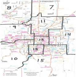 Colorado Springs Area Zip Code Map