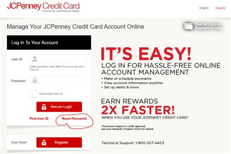 Maybe you would like to learn more about one of these? JCPenney Credit Card Login Step by Step