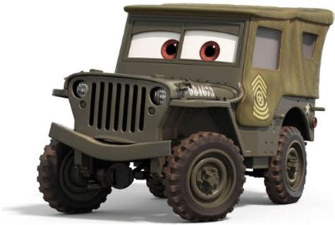 Cars 2 Sarge by Sarge Cars Pixar Wiki Fandom Powered By Wikia