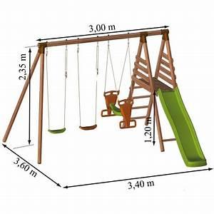 Portique Bois Pas Cher : portique en bois arica soulet pas cher prix auchan ~ Premium-room.com Idées de Décoration