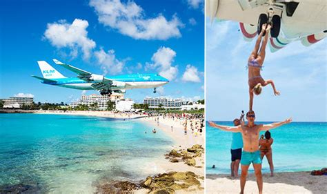 Maho Beach Tourists Slammed For 'extremely Dangerous
