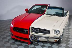 Side-By-Side 1965, 2015 Mustang Display Showcases 50 Years of Innovation at National Inventors ...