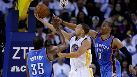 Warriors Vs Thunder Nba Western Conference Finals