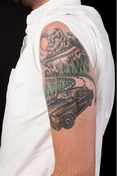 Office Mark Tattoo Tattoos Staff Gq Byrne