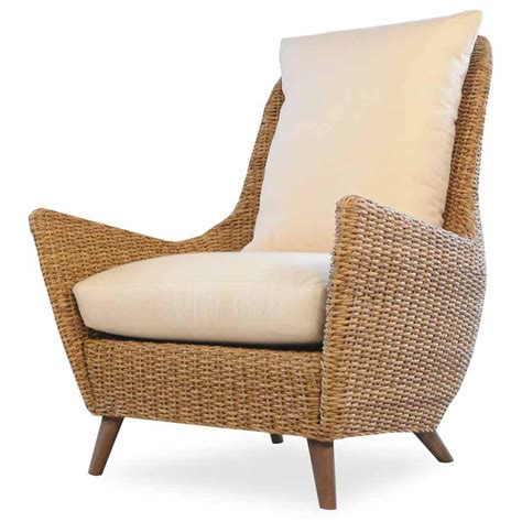 lloyd flanders tobago high back lounge chair back
