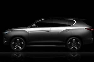 Ssangyong Rexton 2017 : 2017 ssangyong rexton previewed in liv 2 concept form autocar ~ Maxctalentgroup.com Avis de Voitures