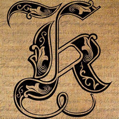 letter initial  monogram  engraving style type  graphique  lettering alphabet