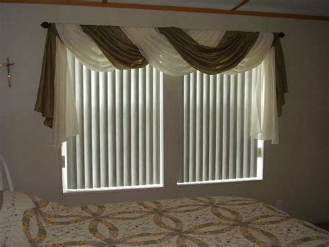 Appropriate Curtain Length by Sheer Swag Curtains Valances Window Treatments Design Ideas