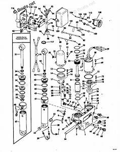 Johnson Outboard Parts By Year 1978 Oem Parts Diagram For Power Tilt And Trim
