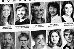 Celebrity Yearbook: Geeky high school pics of the stars ...
