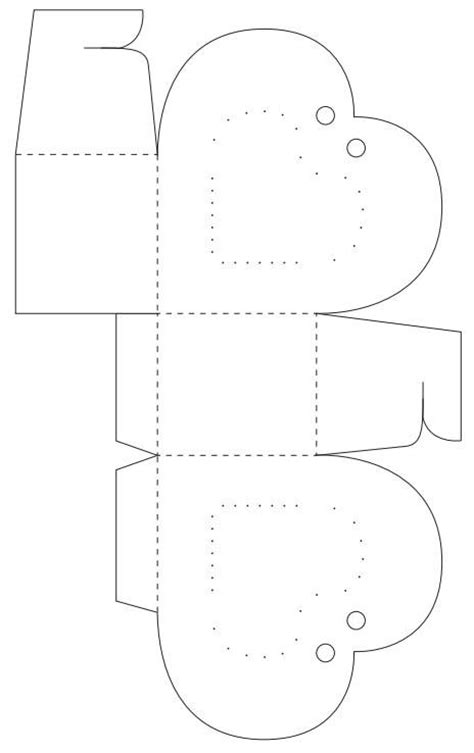 paper box template for children crafts from paper a box in the form of a arts and crafts activities