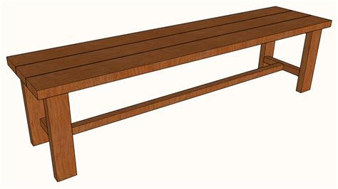 Bench Designs Simple by Free Diy Simple Bench Plans 187 Artisan