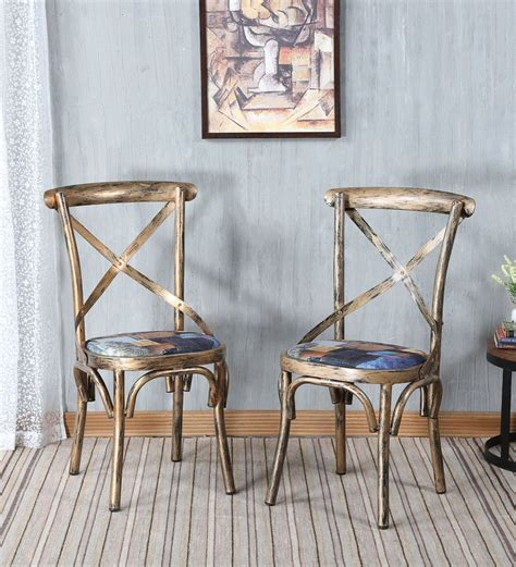 buy stanrock metal chair set    antique bronze