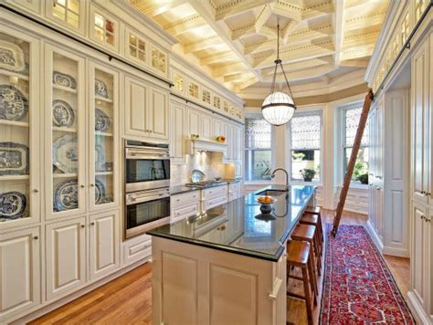 dramatic kitchen designs hgtv
