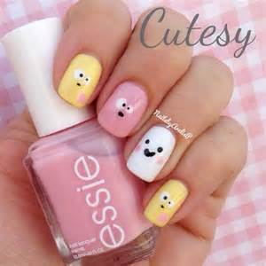 Cute emoji face nail art design inspirations designs