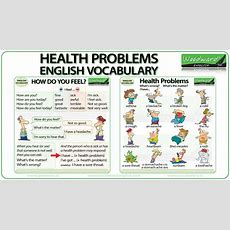 Health Problems  English Vocabulary Youtube