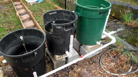 cheap diy bio pond filter that works