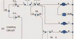 Three Phase Wiring Diagram Motor Thermal Overload Relay Principle