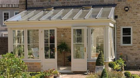Conservatory Sunroom by Timber Lean To Conservatory Front View Home In