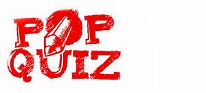 Music: pop quiz