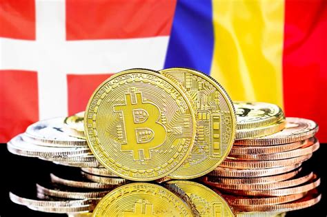Download in under 30 seconds. Bitcoins On Denmark And Moldova Flag Background Stock ...