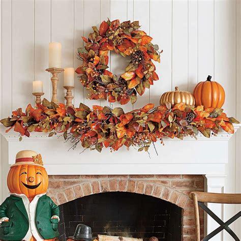 Herbst Girlande Fenster by Herbstdeko Aus Naturmaterialien 55 Bastelideen