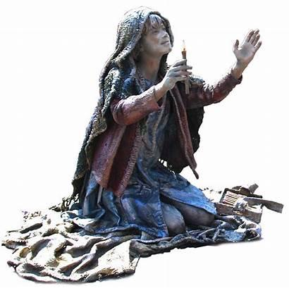 Match Living Statue Sculptures
