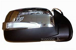 1 Right Side Power Mirror Side Rear View With Turn Signal