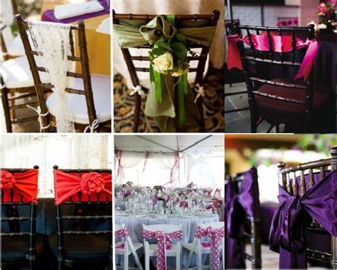 d 233 coration de chaise de mariage