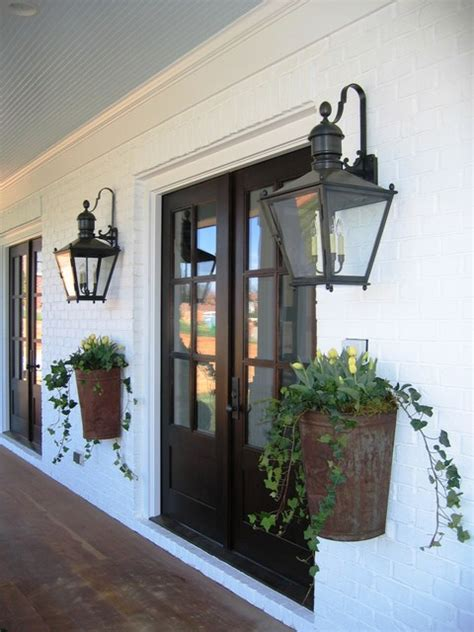 modern farmhouse exterior lighting farmhouse chic eclectic entry charlotte by austin