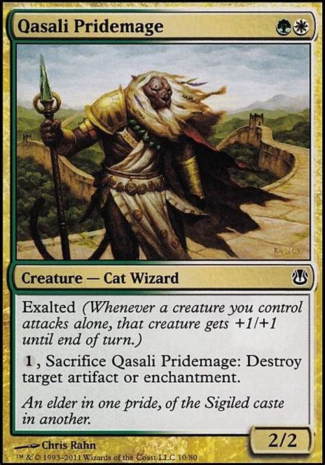 mtg modern decks tapped out qasali pridemage mtg card
