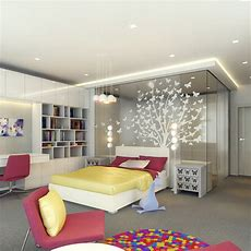 Kids Rooms Climbing Walls And Contemporary Schemes