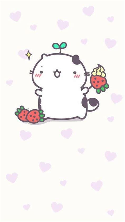 萌萌哒小猫咪卡通素描QQ皮肤图片,吃货喵星人
