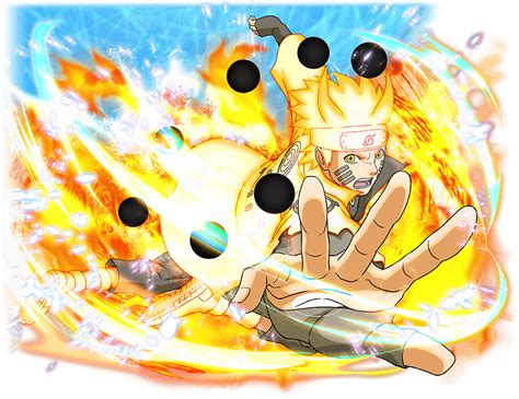 Naruto Uzumaki Seal Of Light
