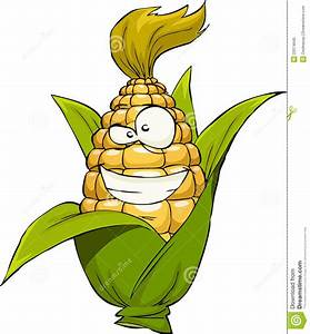 Cartoon Corn Stock Photo - Image: 23374640