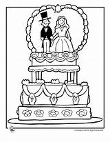 Coloring Pages Cake Printable Table Activity Colouring sketch template
