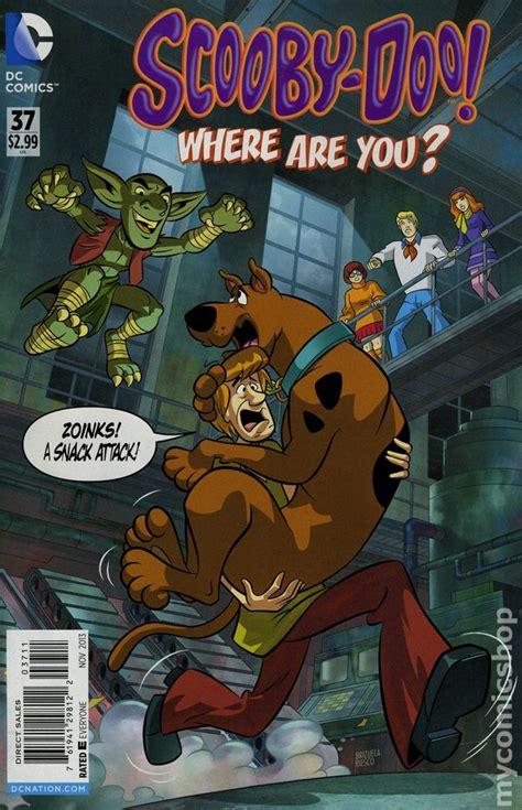 scooby doo     dc comic books