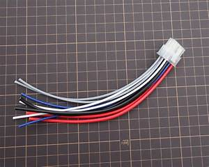 1pc Speaker Wire Harness 10 Pin Plug High Level Input For