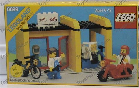 Lego 6699 Cycle Fixit Shop Set Parts Inventory And