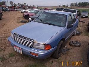Service Manual  Repair 1994 Plymouth Acclaim Engines