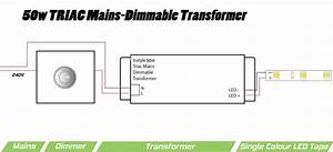 50w Triac Dimmable Transformer