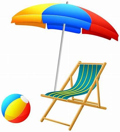 Beach Chair Clipart Umbrella Clip Ball Clipground