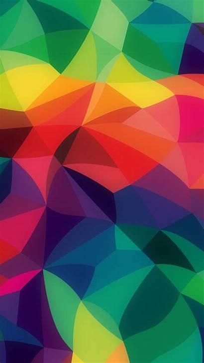 Pastel Rainbow Pattern Abstract Dark Colors Iphone