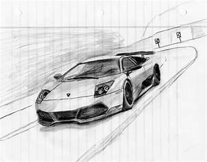 Dibujos de Autos al Piso a Lapiz Para Descargar Dibujos de Autos