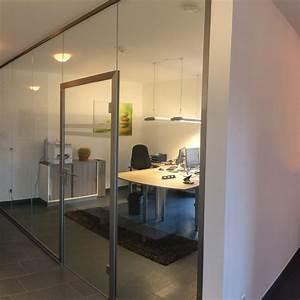 Glas Für Tür : b rotrennwand aus glas mit t r glasprofi24 ~ Orissabook.com Haus und Dekorationen