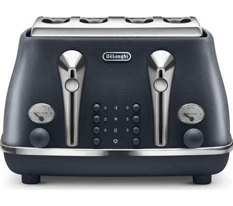 Delonghi 4 Slice Toaster by Buy Delonghi Elements Ctoe4003 Bl 4 Slice Toaster