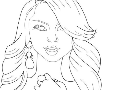celebrity coloring pages coloringsuitecom