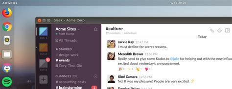 how to quickly install slack on ubuntu and other linux