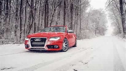Audi Snow Winter S4 Background Desktop Wallpapers