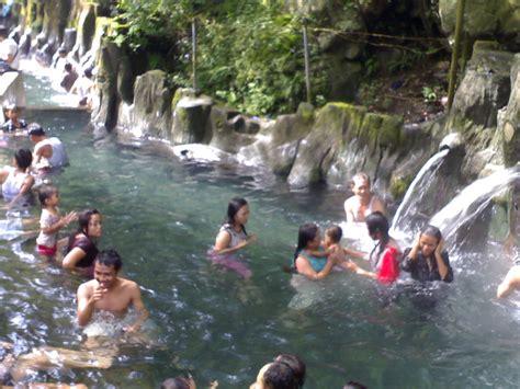 objek wisata air panas guci indonesia tegal wisata
